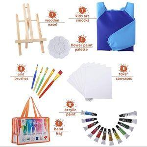 New 27-Piece Kids Paint Set